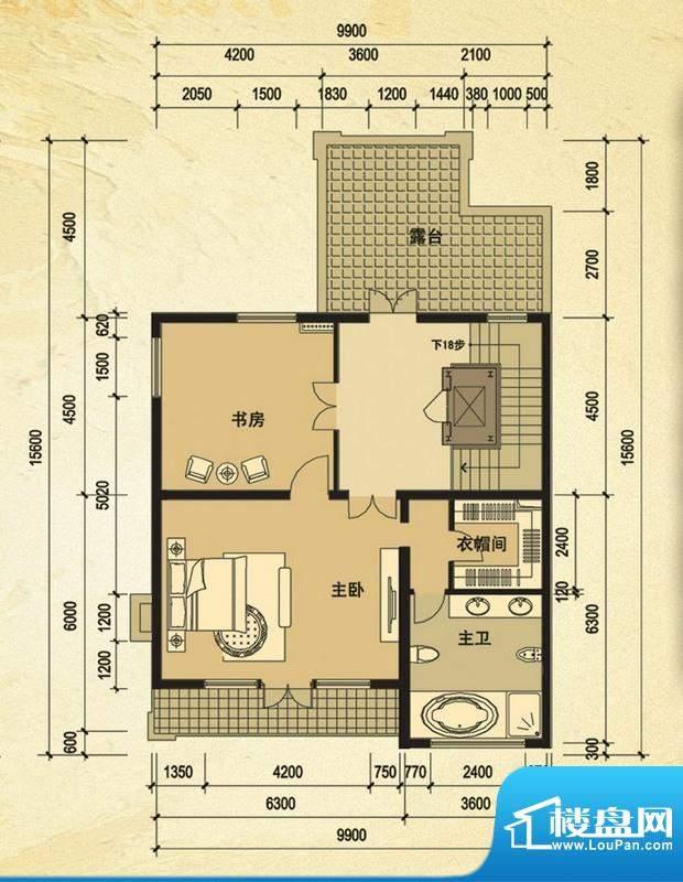 天马相城一期58号楼面积:110.12平米