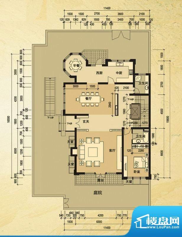 天马相城一期58号楼面积:170.80平米