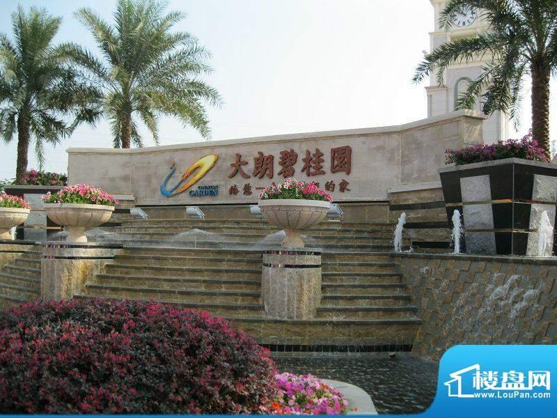 大朗碧桂园小区入口图(2010-11-20)