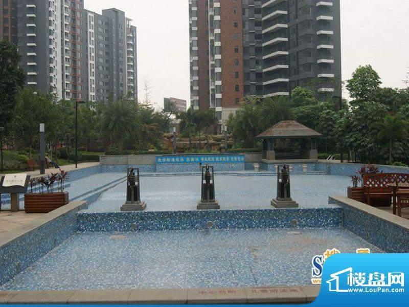 滨江公馆宾仕小区游泳池(2012-5-31)