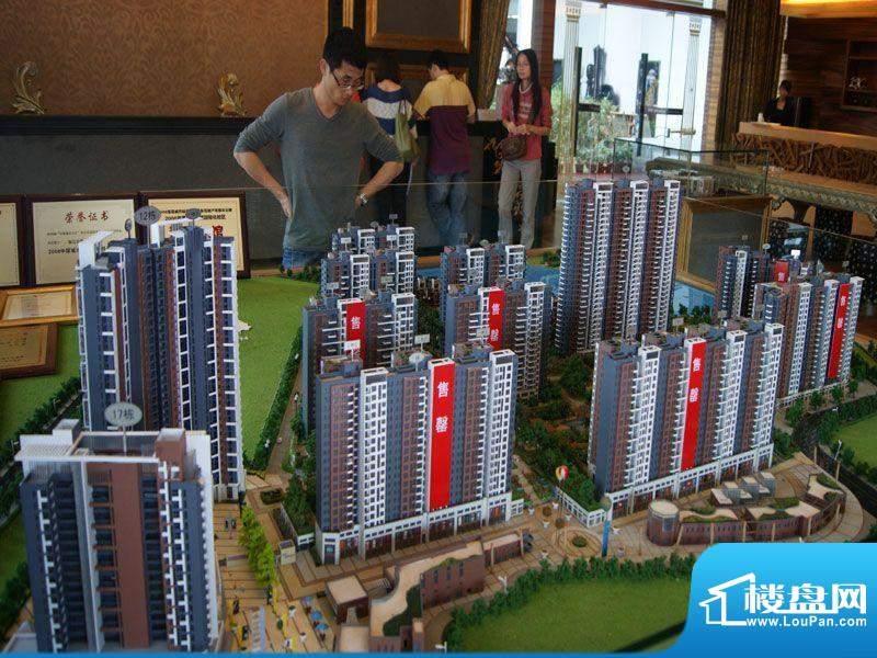 滨江公馆宾仕项目沙盘(2012-07-06)