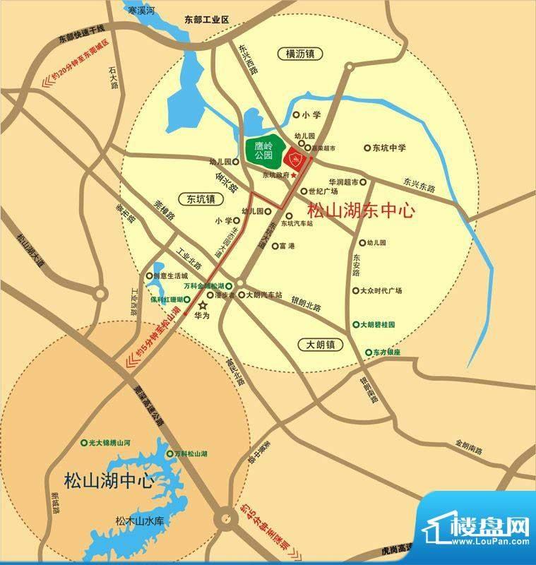 皇家公馆二期交通图