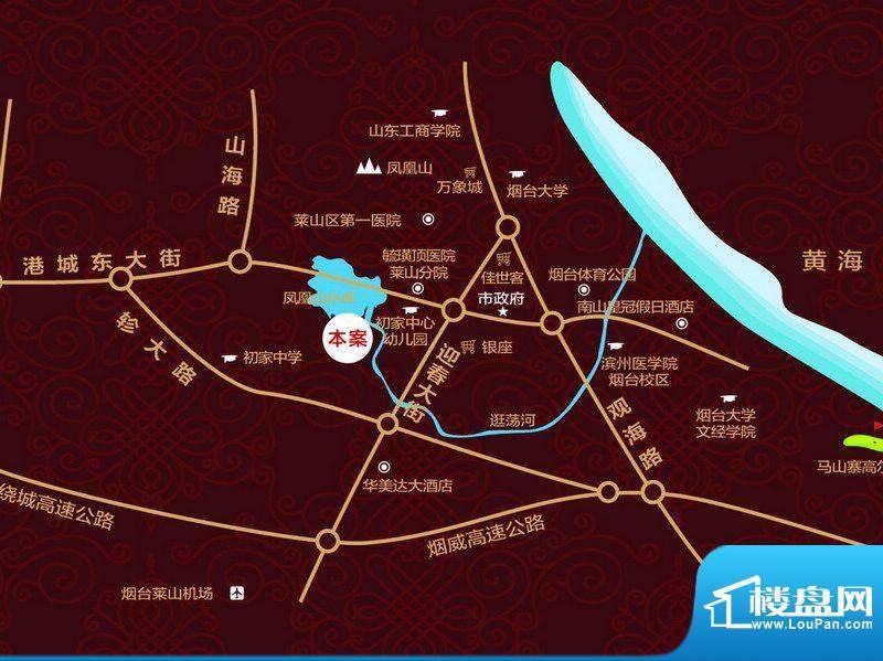万光福园交通图