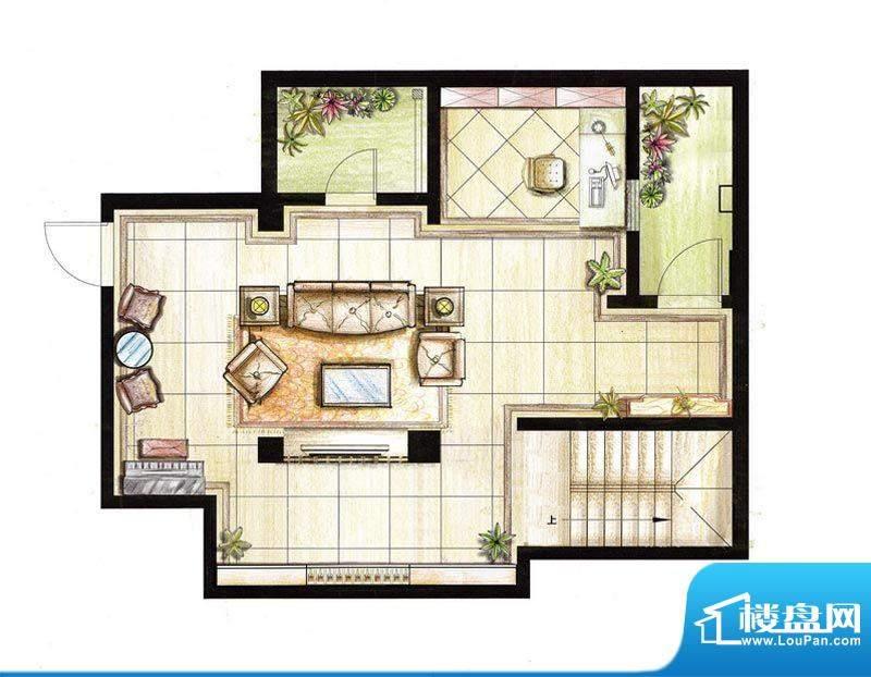 红鼎湾花园2-5号楼多面积:68.00平米