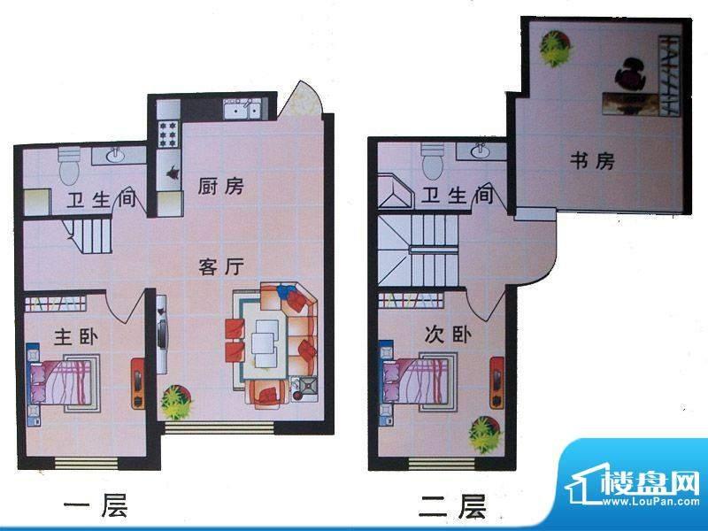 东城明珠1-1号楼中门面积:114.71m平米