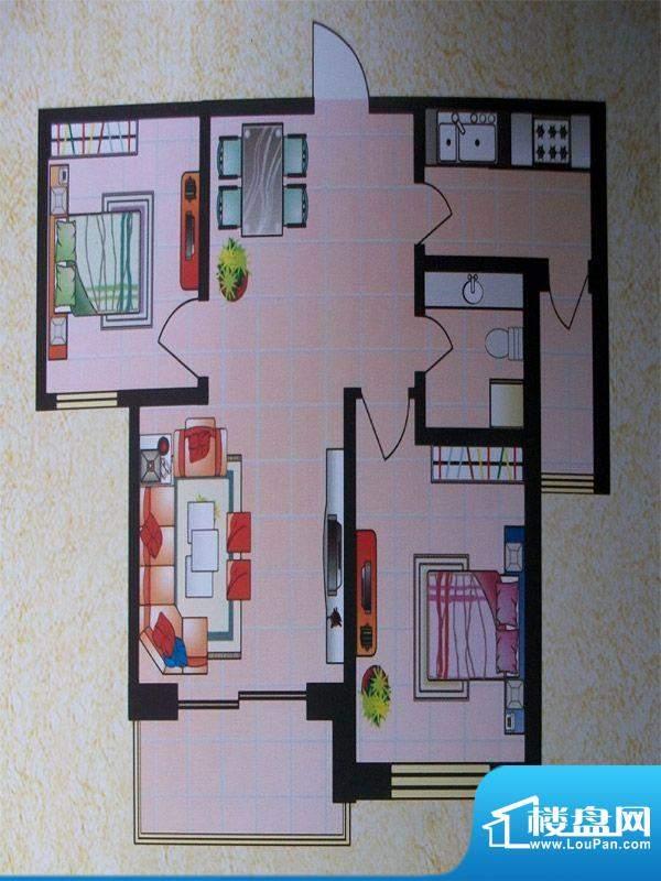 东城明珠3号楼中门2面积:0.00m平米