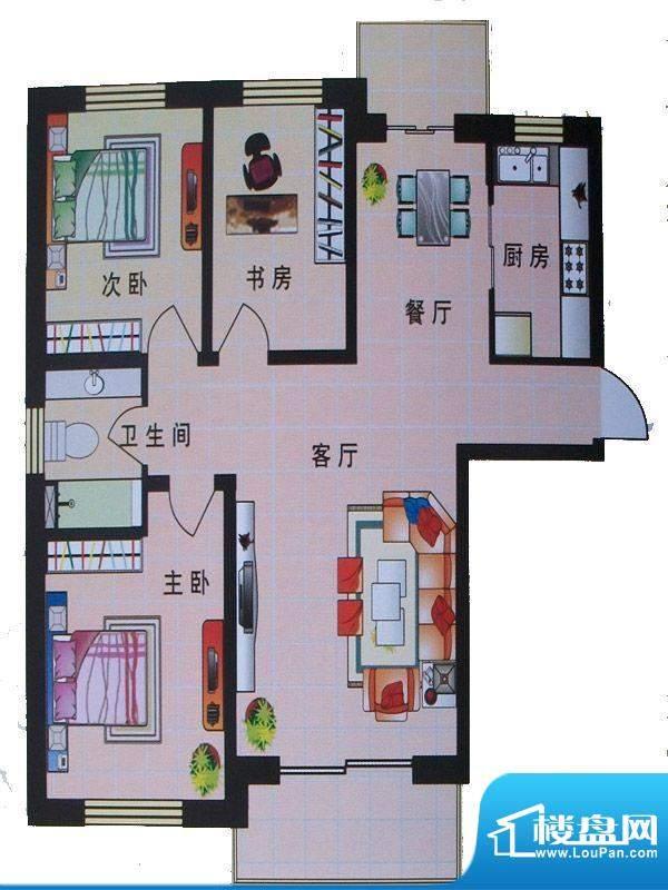 东城明珠3号楼左门2面积:0.00m平米