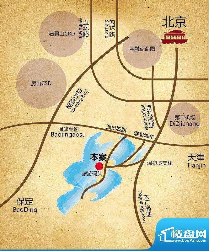 鹏渤鹭岛交通图