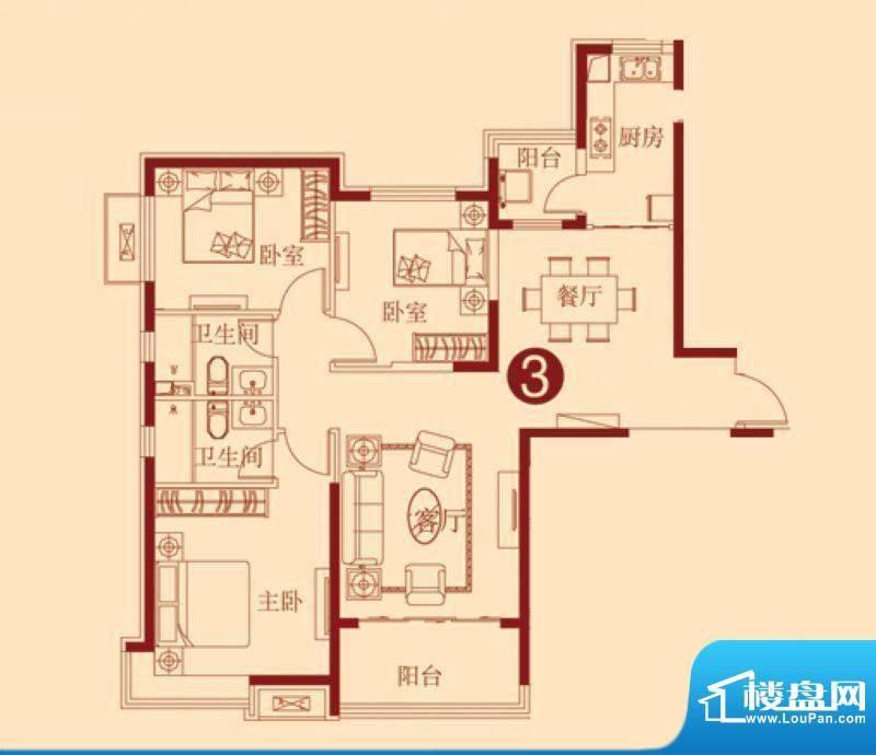 恒大绿洲2号楼一单元面积:141.21m平米