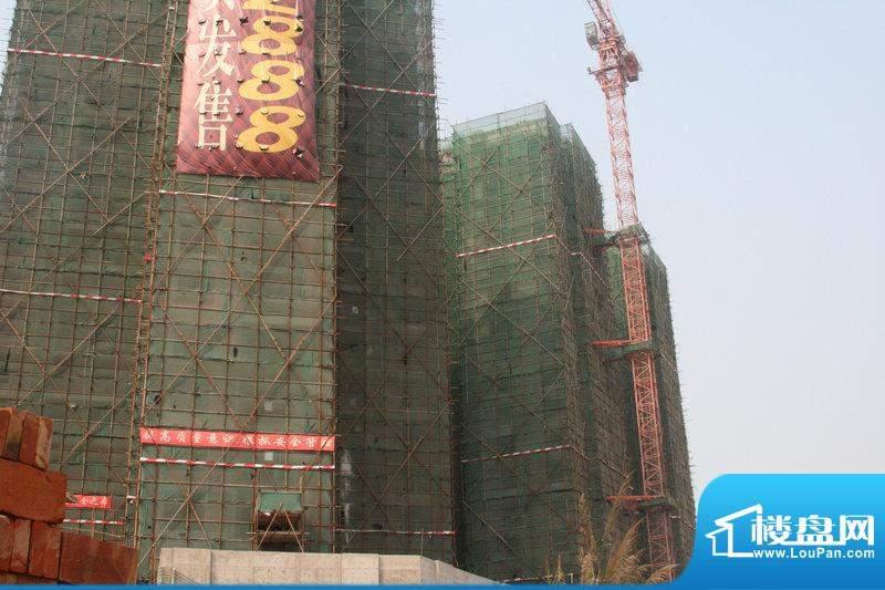 鼎盛中环施工实景图(2011-3-2)