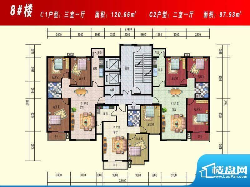 开源花苑8#楼 面积:0.00m平米