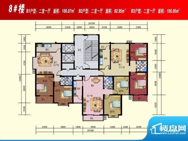 开源花苑8#楼 B1 面积:0.00m平米