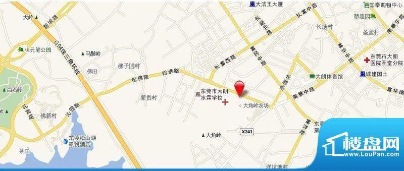 碧水天源枫景台交通图