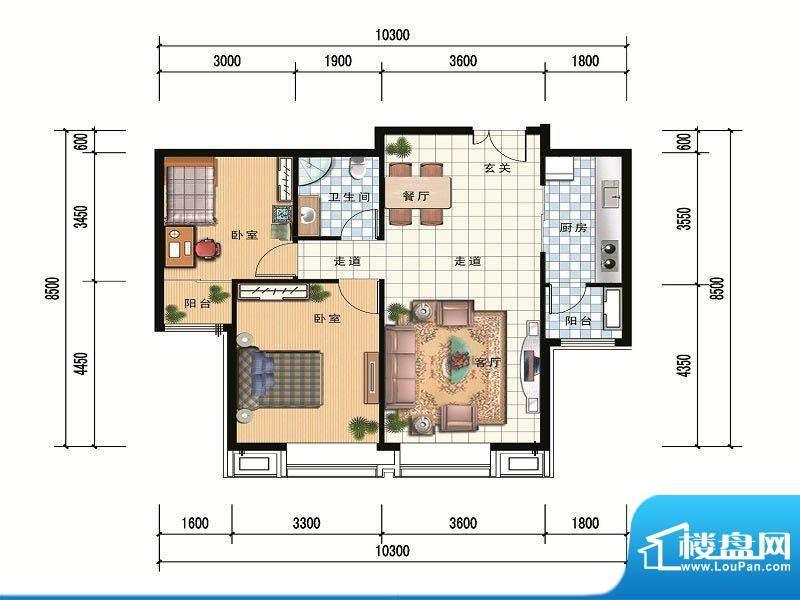 财富官邸A1--93.6平面积:0.00m平米