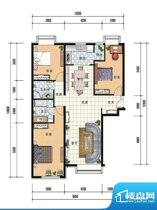 财富官邸A5--146.48面积:0.00m平米
