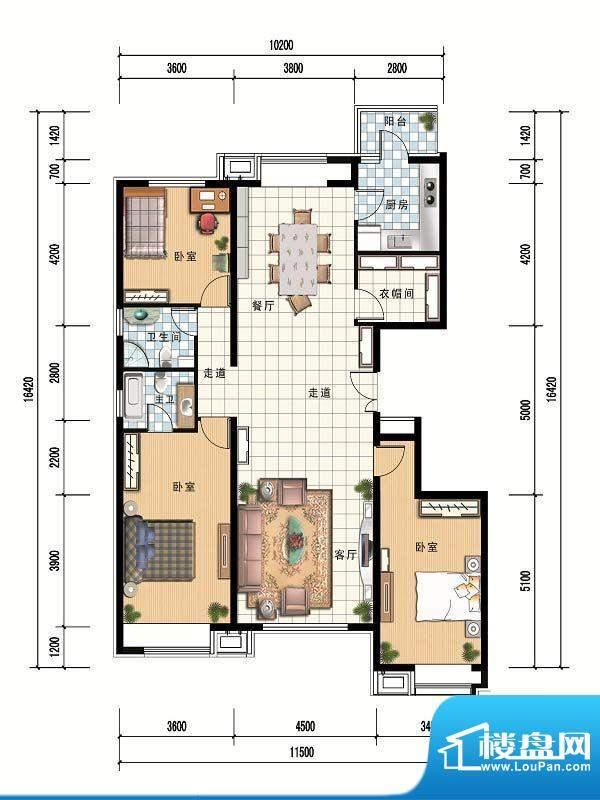 财富官邸Bd--171.21面积:0.00m平米