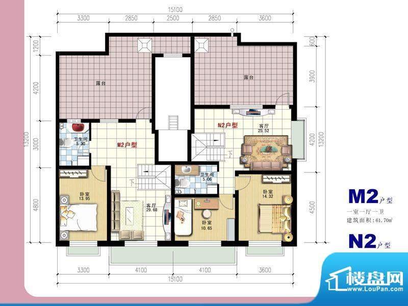 安全苑·铭苑M2-N2阁面积:0.00m平米