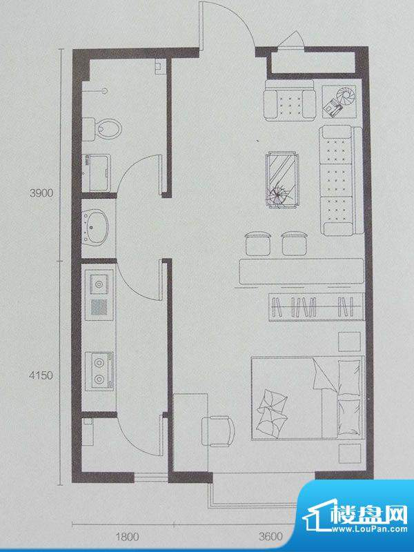 联想科技城1号楼/7号面积:57.00m平米