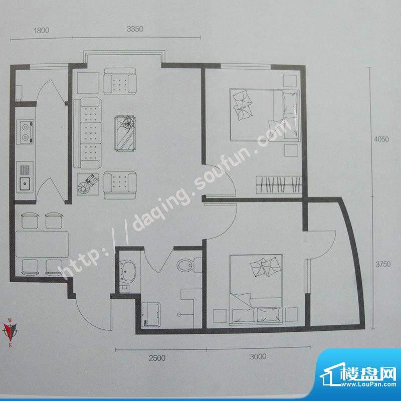 联想科技城1号楼/7号面积:88.00m平米