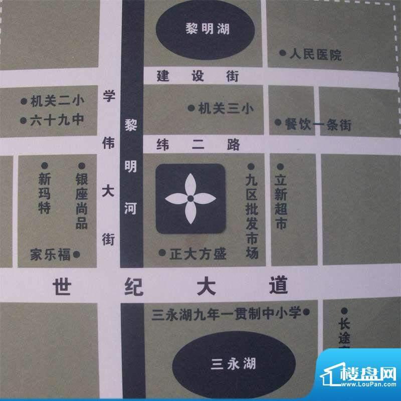 水木华庭交通图