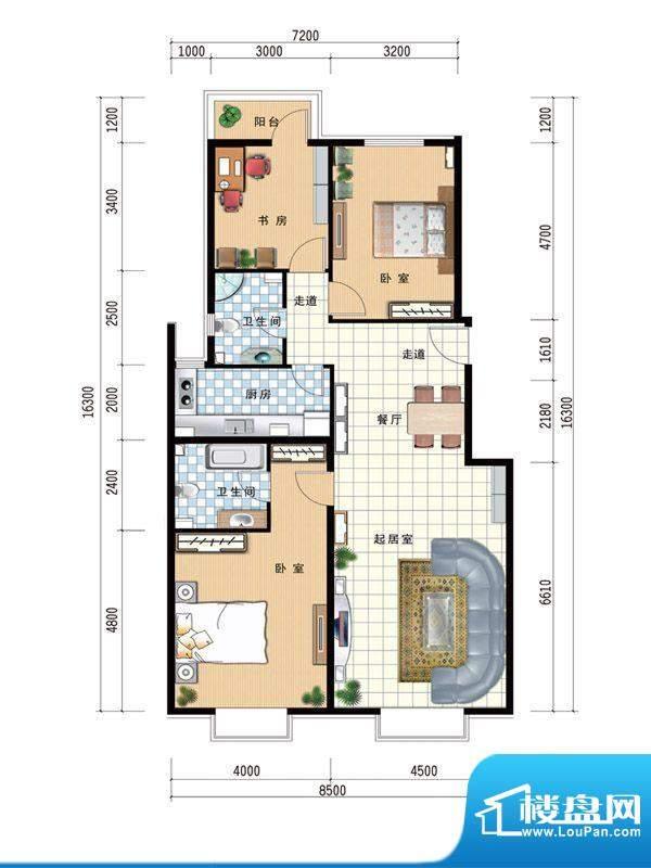 温莎公馆B 138 面积:0.00m平米