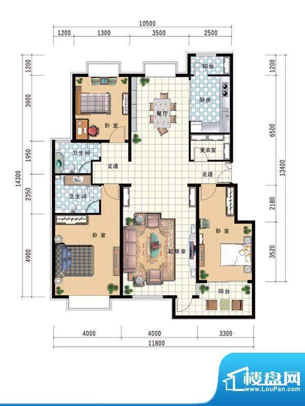 温莎公馆C 164 面积:0.00m平米