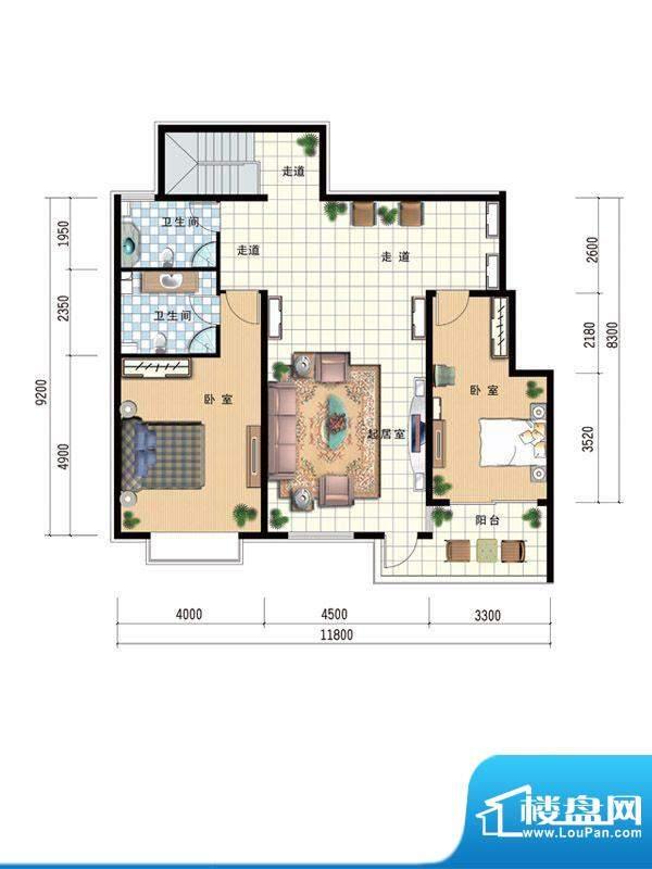 温莎公馆C1 110 面积:0.00m平米
