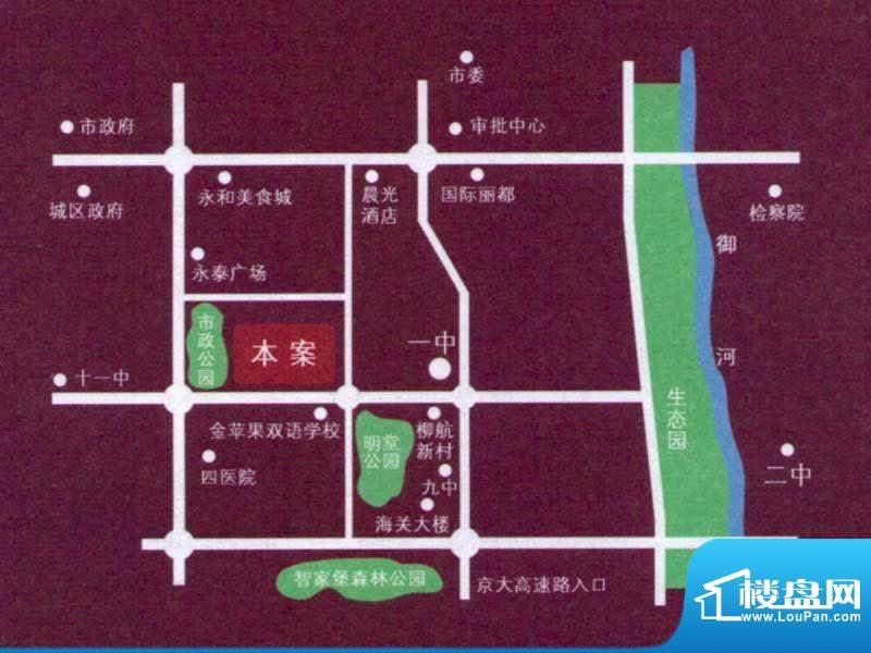 汇天嘉宇交通图