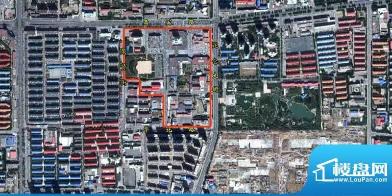昆仑唐人中心交通图