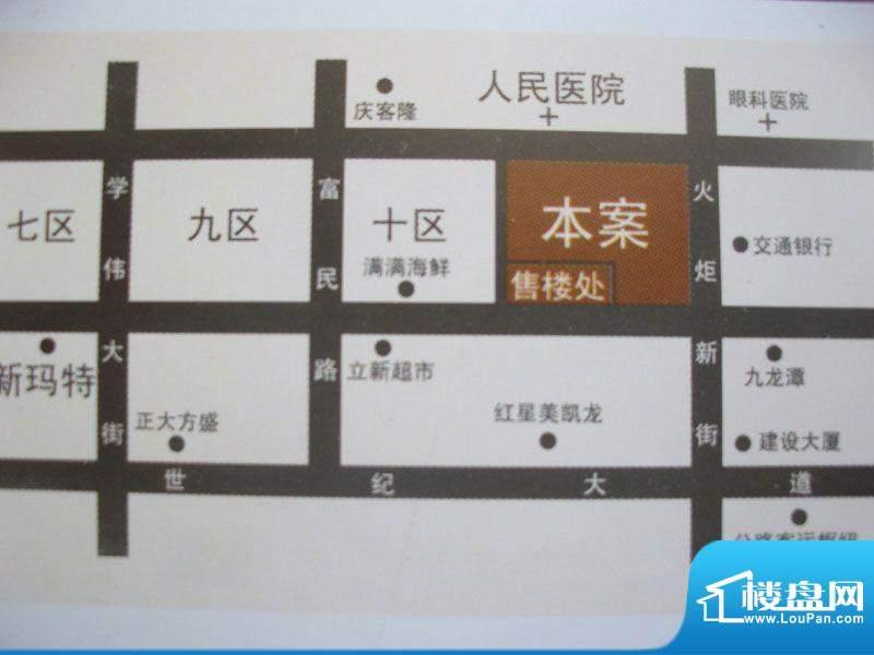 景程交通图
