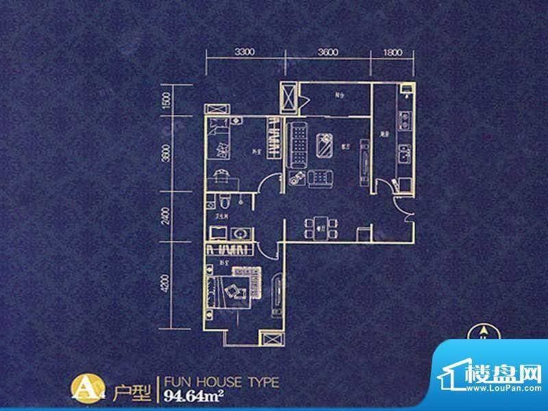 大成·荣尊堡户型图面积:0.00m平米