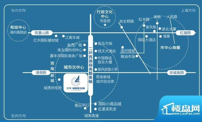 亿丰赛格数码城交通图