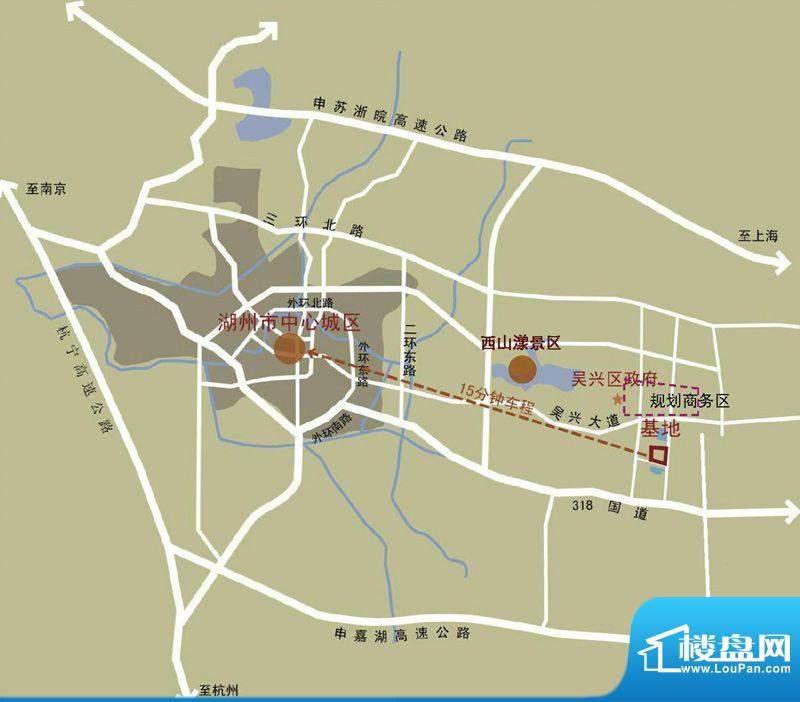 中惠卡丽兰交通图