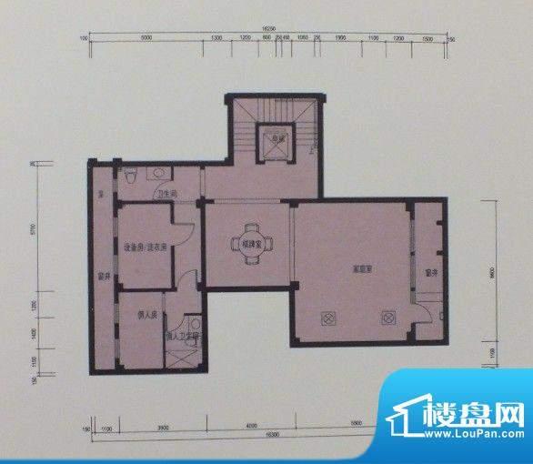 泰悦府N1地下室户型面积:0.00m平米