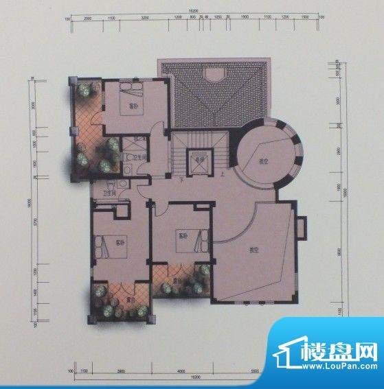 泰悦府N1二层户型图面积:0.00m平米