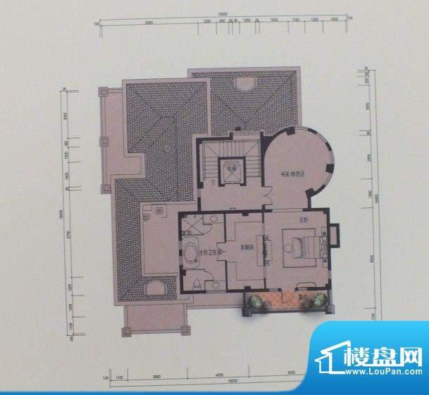 泰悦府N1三层户型图面积:0.00m平米