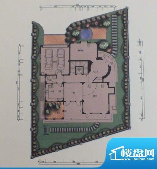 泰悦府N1首层户型图面积:0.00m平米