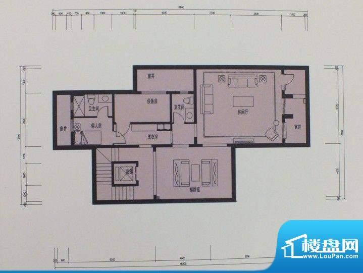 泰悦府S1地下室户型面积:0.00m平米