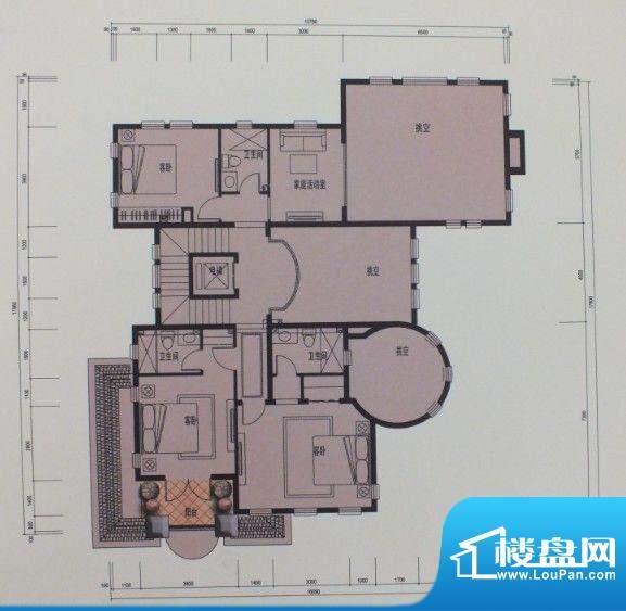 泰悦府S1二层户型图面积:0.00m平米