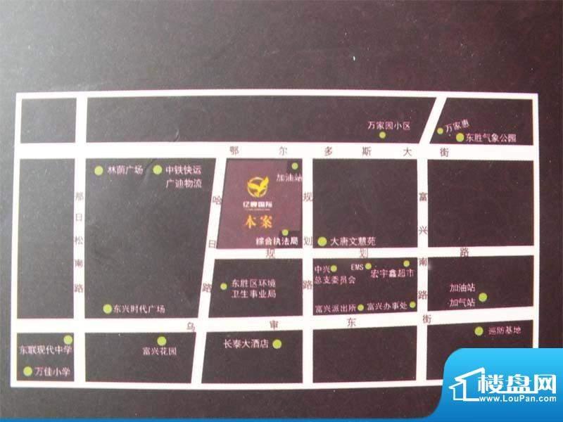 亿宸国际交通图1