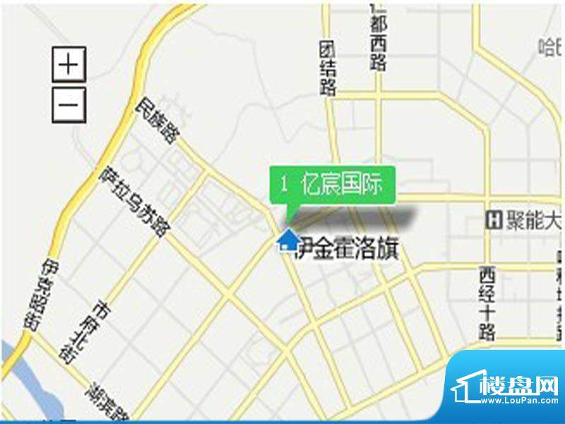 亿宸国际交通图