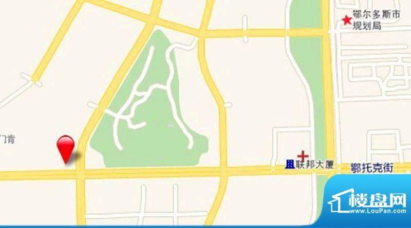 正东广场交通图