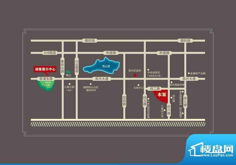 东方花园交通图