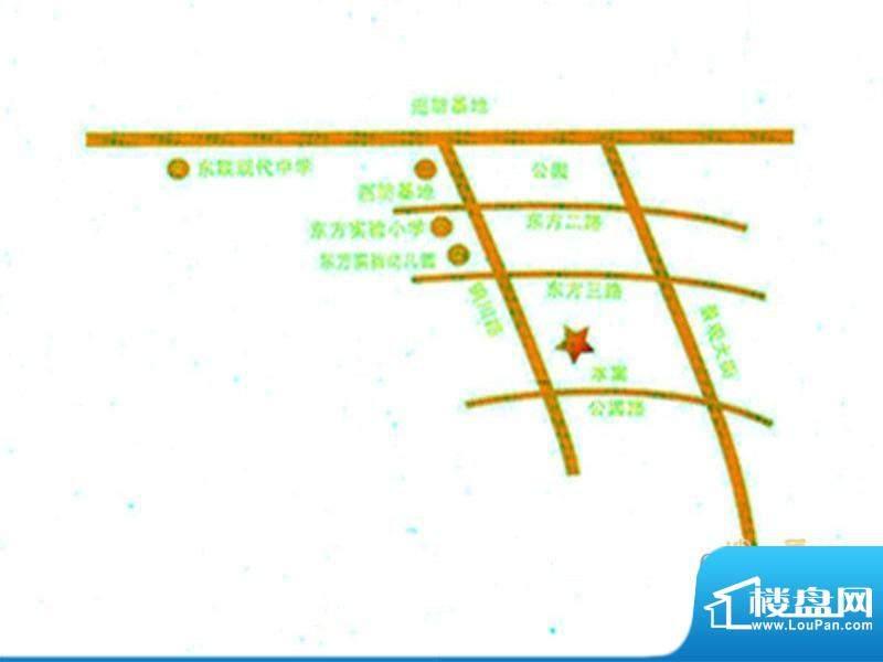 上东阳光交通图