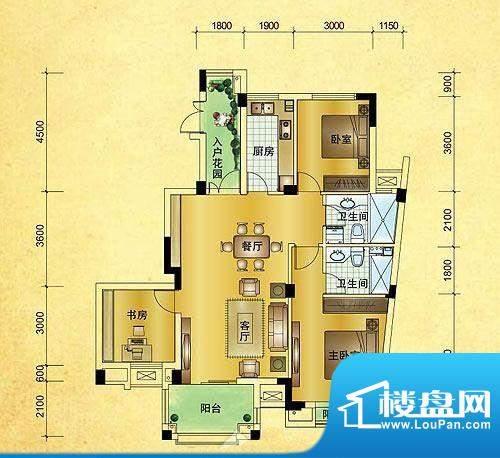 星汇半岛普通住宅12面积:122.26m平米
