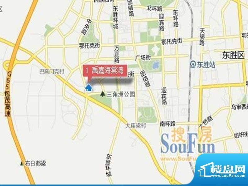 禹嘉海棠湾交通图