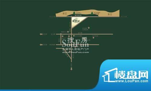 金椅豪园三期交通图