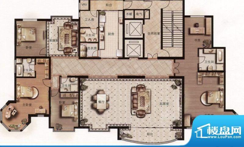 天誉国宝E1户型图 4面积:0.00m平米