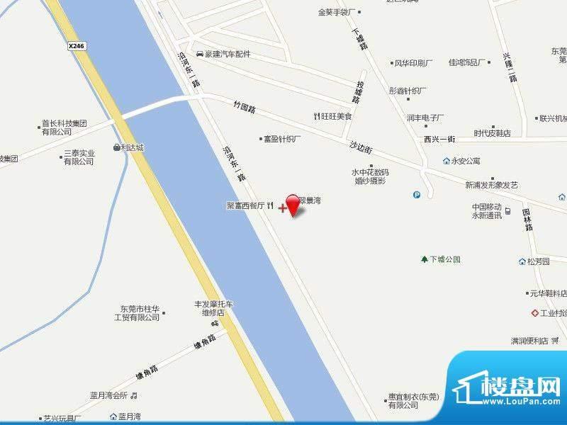 翠景湾交通图