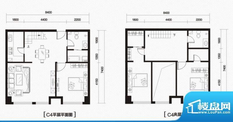 内大翡翠城9#楼C-4户面积:0.00m平米